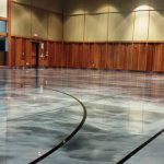 Industrial epoxy Flooring (court)